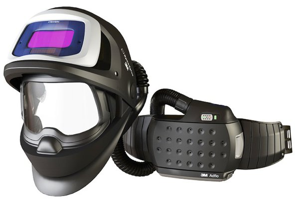 Welding Helmet 9100X FX, fresh air system Adflo Li-ion and bag