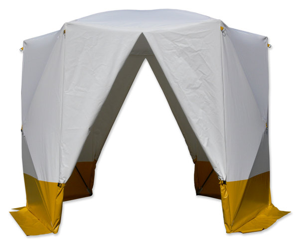 welding tent flame retardant model hexagon