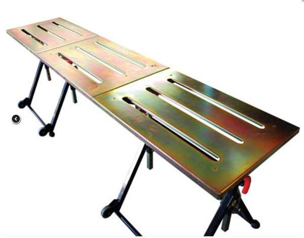 Connector plate Nomad welding table