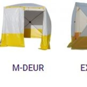 welding tent flame retardant model cube
